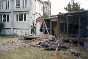 1987 Mitteltrakt Abbruch