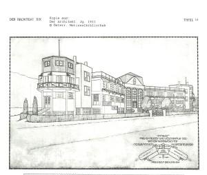 Bootshaus Entwurf