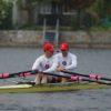 Premiere im 2x bei der Vienna Rowing Challenge
